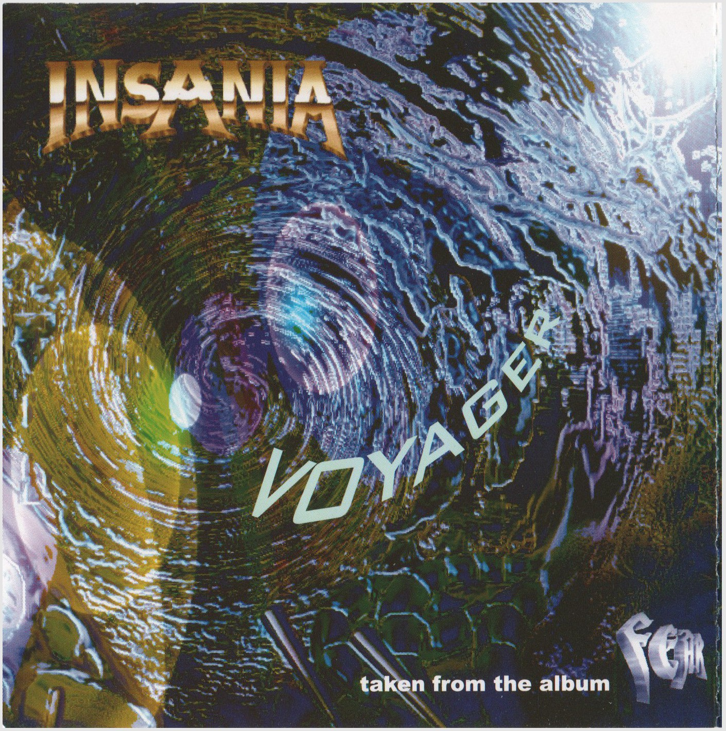CD Cover Voyager (Maxi)